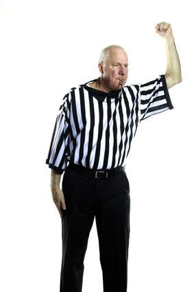 Basketballregeln - persönliches Foul