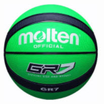 Molten Basketball grün GR7
