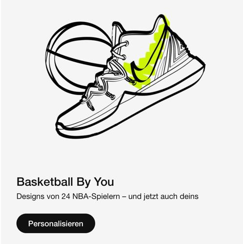 Nike Basketball Schuh Made by yourself - Dein eigener Basketballschuh - Wähle aus über 24 Designs